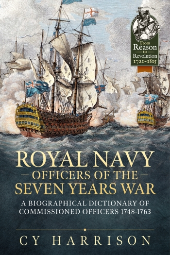 Book Cover : Royal Navy Officers of the Seven Years War