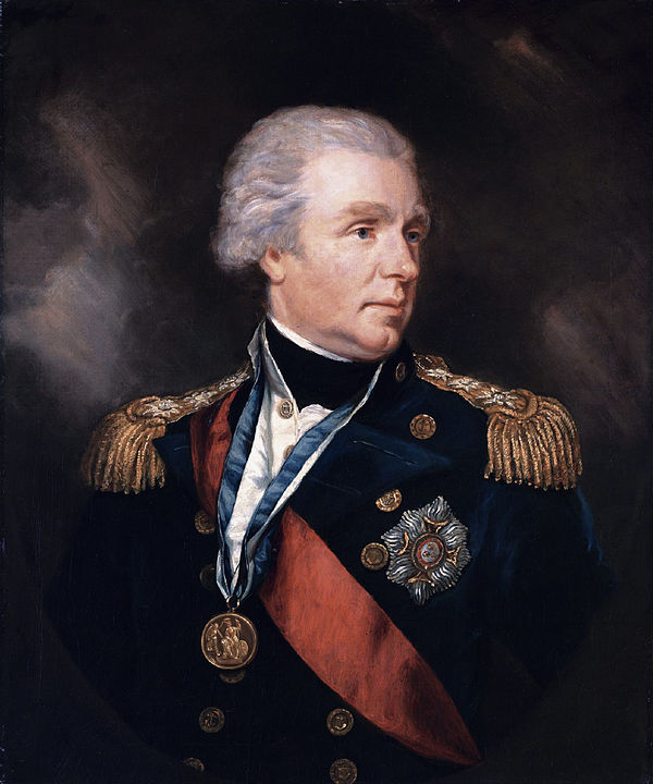 dmiral William Waldegrave, 1st Baron Radstock (1753-1825) oil on canvas